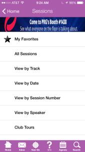 Fri app Sessions