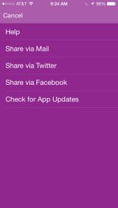 Fri App sharing