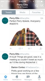 Perry Ellis tweets2