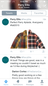 Perry Ellis tweets2