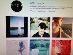 U2 Instgram